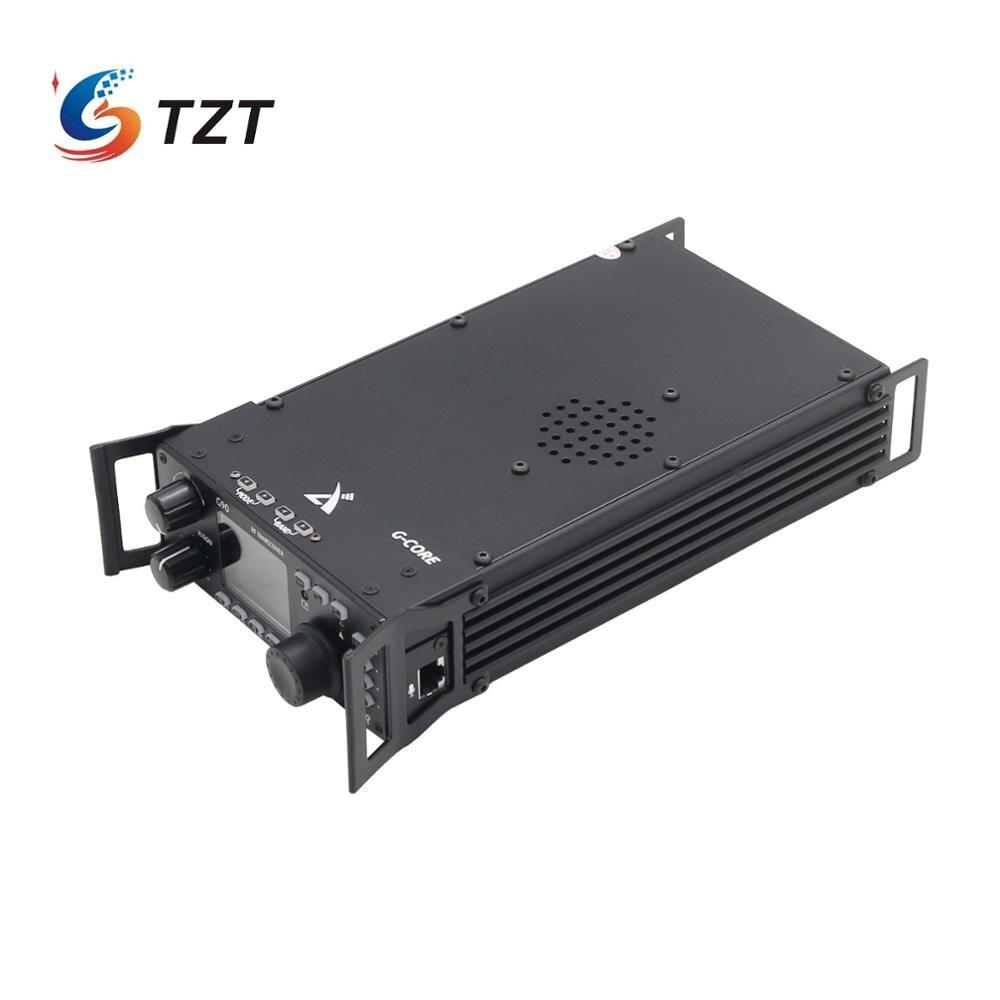 TZT Xiegu G90 HF Transceiver 20W SSB/CW/AM/FM 0.5-30MHz SDR Radio W/ Antenna Tuner