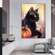 Животное Кот диван Спальня украшение живопись фон Стена холст