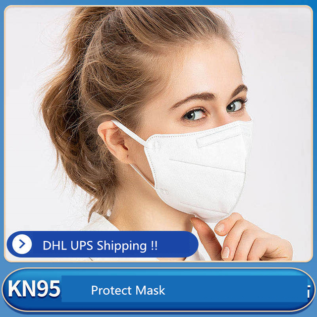 High Quality KN95, N95 Mask Protective Mouth Face Masks 95% Filtration Anti-Dust Against Droplet flu Free Shipping DHL In stock 3
