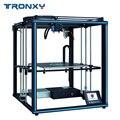 2019 Tronxy X5SA 24V Новый модернизированный 3d принтер DIY наборы металлическая Монтажная пластина 3,5 дюймов lcd сенсорный экран Высокая точность авто...