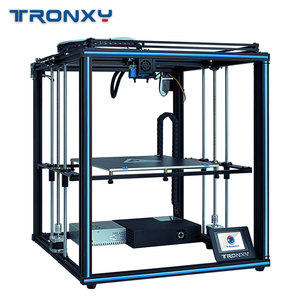 2019 Tronxy X5SA 24V New Upgraded 3D Printer DIY Kits Metal Build Plate 3.5 Inches LCD Touch Screen High Precision Auto Leveling(China)