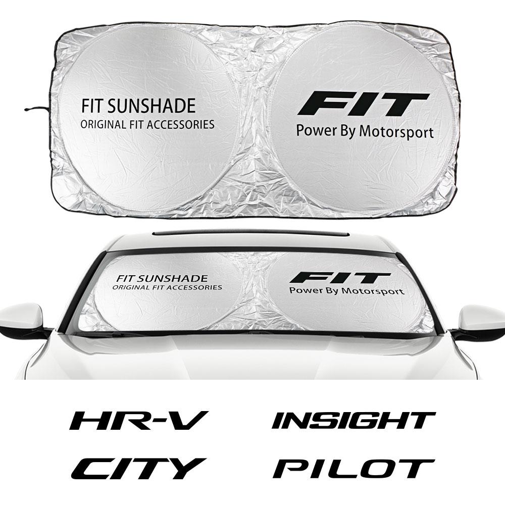 Przednia szyba samochodu osłona przeciwsłoneczna dla Honda CITY DOHC pasuje HR-V legenda INSIGHT PILOT ODYSSEY RR typ R typ S VEZEL VTEC akcesoria