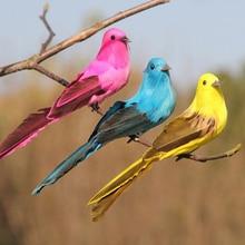 Foam Birds Cute Artificial Feathered Bird Clip On F