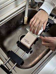DMD кухонная раковина из точильного камня основа держатель из водяного камня полка для 360-80 мм длина оправы Регулируемая нержавеющая сталь пр...