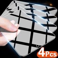 4 шт. полное покрытие закаленное стекло для Huawei P30 P40 P20 Lite Pro защита для экрана для Huawei Mate Honor 30i 30 20 Lite стеклянная пленка
