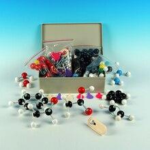 Adequado para professores do ensino médio e estudantes modelo molecular conjunto kit universal e química orgânica molecular ensinar