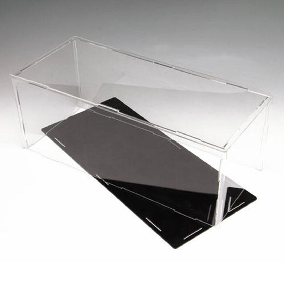 36.6x26.6x15.6cm bloco de construção acrílico dustproof exibir