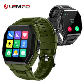 LEMFO S9 Smart Watch Bluetooth Call 2021 IP67 Waterproof Fitness Bracelet Sport Smartwatch Men For Android Apple 1