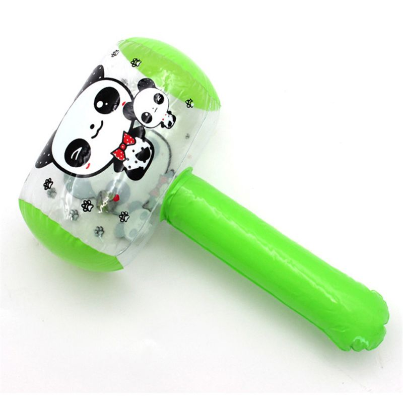 Inflatable Hammer With Bell Air Hammer Baby Toy Kids Toys Party Favors Inflatable Toy Pool Beach Toy E65D