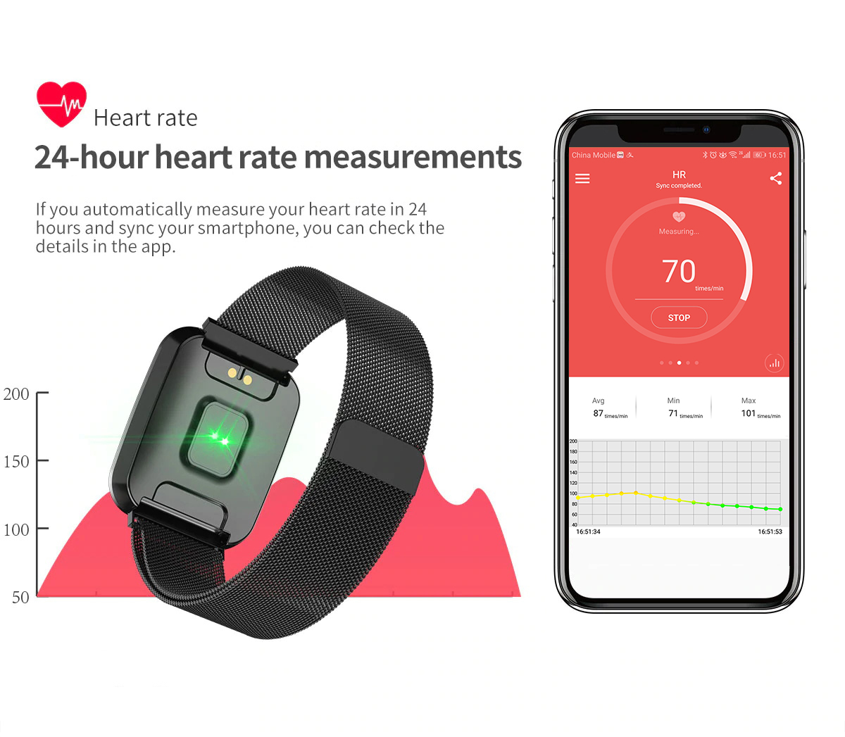 DAROBO N99 Sport and Heart rate monitor Smart watch with Waterproof Blood pressure monitor for men women available in Android IOS 10