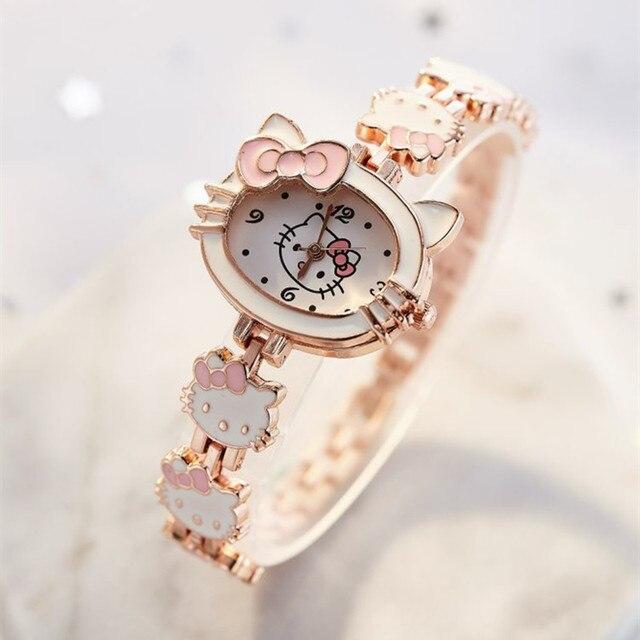 2019 nova reloj crianças relógios para meninas dos desenhos animados adorável pulseira estudante menina relógio bonito relógio de quartzo presente aniversário alta qualit 2