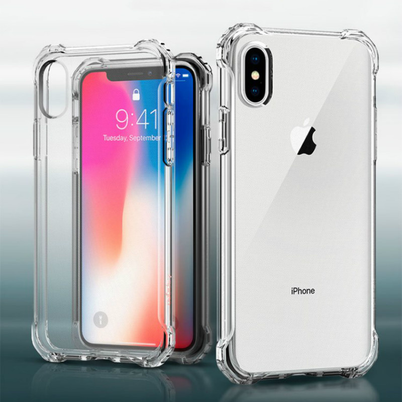 Ultra thin Clear TPU Silicone Case For iPhone 11 Pro XS MAX XR 6 7 6S 8 Plus Protect Rubber Phone Case For iPhone 11Pro MAX 2019