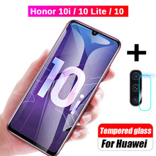 2-in-1 Camera Tempered Glass For Huawei Honor 10i 10 Lite Screen Protector Protective Glass For Honor 10i HRY-LX1T 10 Light Film(China)