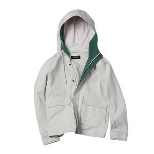 Image 5 - SIMWOOD 2020 wiosna nowa modna kurtka mężczyźni szorty kurtki okazjonalne 100% płaszcze bawełniane kieszeń wysokiej marka jakości odzież 190092