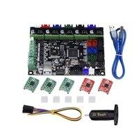 Kit de impressora 3d mks gen l integrado mainboard a4988 driver + contato 3d blcontact sensor para tevo tarântula tornado impressora 3d diy|Peças de impressora| |  -