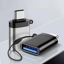USB + C + OTG + адаптер + Fast + USB + 3.0 + to + Type + C + Adapter + для + MacbookPro + Xiaomi + Huawei + Mini + USB + адаптер + Type-C + OTG + кабель + конвертер