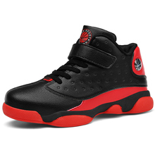 Children Shoes Boys Shoes High Quality Sneakers Kids Casual Shoes Teenagers High Top Basketball Shoes Fashion Sports Shoes cheap VOSONCA Autumn Winter Rubber Mesh Latex Fits true to size take your normal size Anti-Slippery Hook Loop Leather Solid