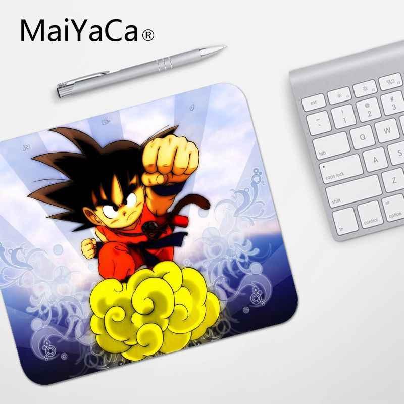 Maiyaca 고품질 goku 드래곤 볼 소형 마우스 패드 pc 컴퓨터 매트 부드러운 쓰기 패드 데스크탑 메이트 게임 마우스 패드