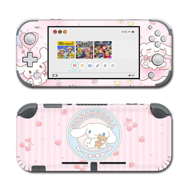 Vinil ekran cilt defne köpek Skins koruyucu çıkartmalar Nintendo anahtarı için Lite NS konsolu Nintendo anahtarı Lite Skins