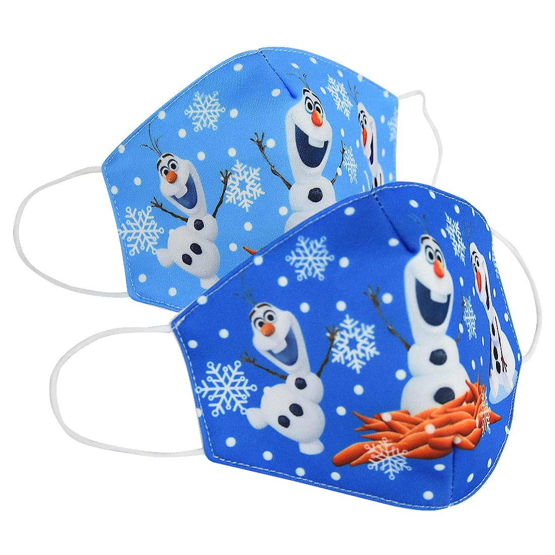 Snow Queen Olaf Cosplay Mask Cotton Protective Dustproof Masks Child Party Birthday Gift Washable Air Filter Anti Odor Smog Mask