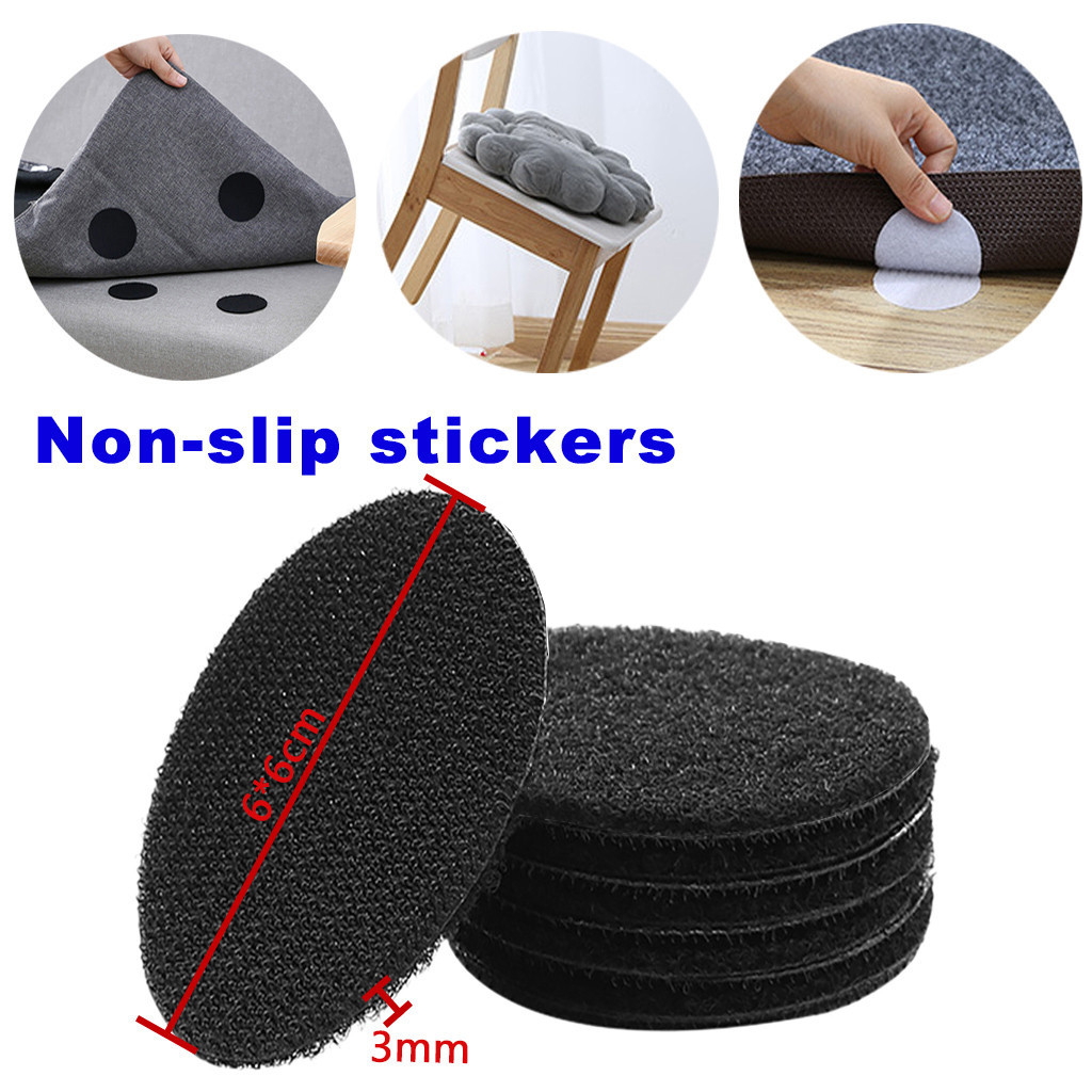 5PCS Non-Slip Mat Safety Bath Tub Shower Floor Sticker Applique Bathroom Accessories Anti-Slip Bath Grip Stickers PEVA Round
