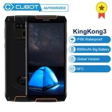 Cubot King Kong 3 NFC IP68 водонепроницаемый 6000 мАч большой аккумулятор MT6763T Восьмиядерный Android 8,1 4 Гб ram 64 Гб rom смартфон