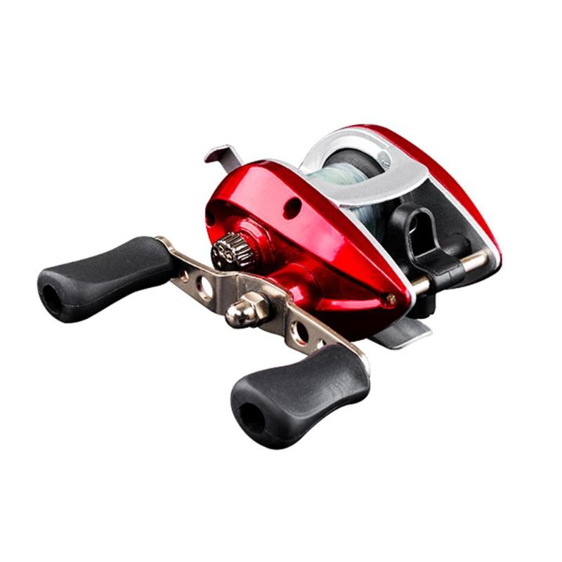 Spinning Fishing Reel Bearings Waterproof Right Hand Baitcasting With Line Fishing Tackle Accessories