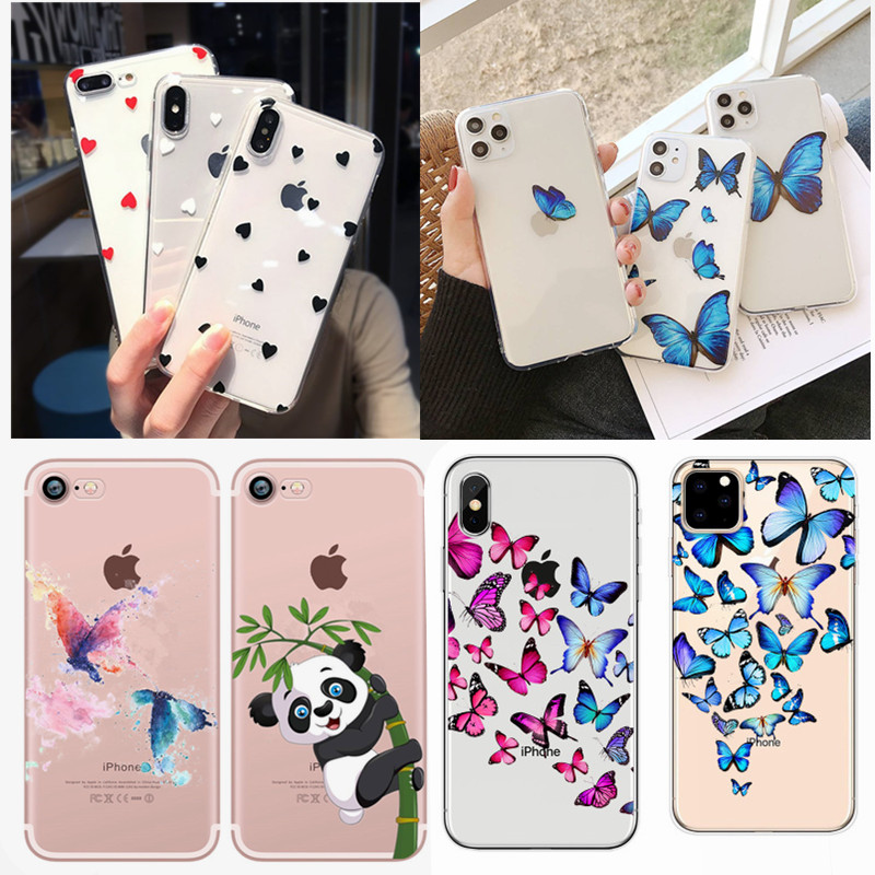 Case For Iphone 6 S 6S Cover Phone Accessories Cartoon Coque Capas For Iphone 8Plus Iphone5 5S SE 2020 SE 2 X XS 7 8 Plus Cases