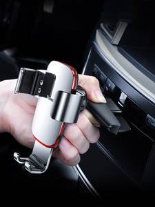 Car-Phone-Holder Mount Gravity Baseus Metal iPhone Car-Air-Vent/cd-Slot Samsung
