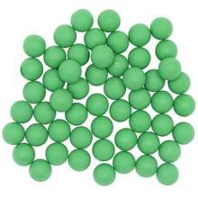 Reutilizável 0.68 calibre motim paintballs-100 novas bolas de treinamento de borracha reutilizáveis paintball pvc material bolas de pintura elástica
