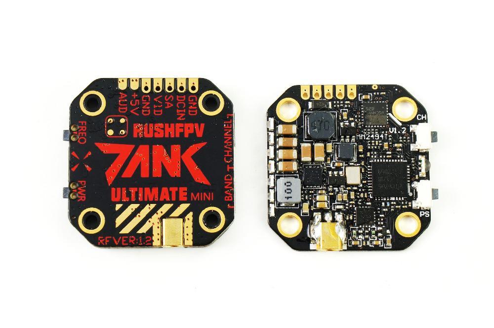 LeadingStar 20*20 réservoir de pointe ultime Mini VTX 5.8GHz 48CH 7-36V 800mW transmetteur vidéo intelligent Audio AGC MIC FPV Drone de course