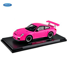 Welly 1:18 Carrera S GT3 legering model auto simulatie auto decoratie collection gift toy spuitgieten model jongen speelgoed(China)