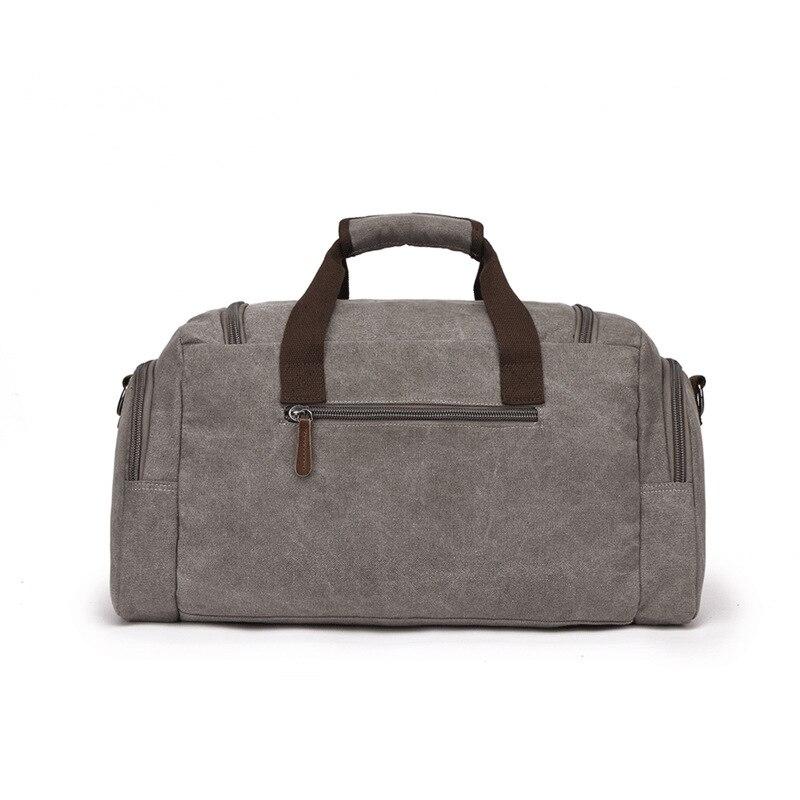 Европейская и американская дорожная сумка, Холщовая Сумка, дорожная сумка, мужская сумка на плечо, сумка мессенджер - 2