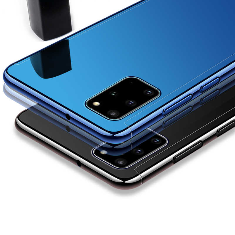 360 องศาป้องกันกรณีกระจกสำหรับ Samsung Galaxy S20 S20 PLUS S20 Ultra หมายเหตุ 10 Plus ชุบ luxury Hard PC