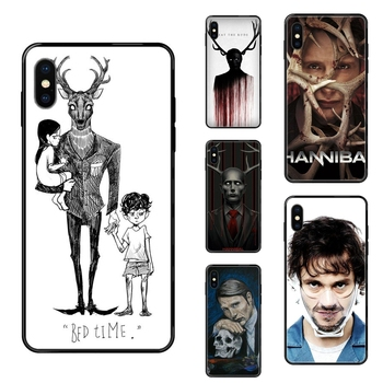 Black Soft Top Detailed Popular Case Gift Cool Graham Hannibal Mads Mikkelsen For Huawei Honor Play V10 View Mate 10 20 20X 30 image