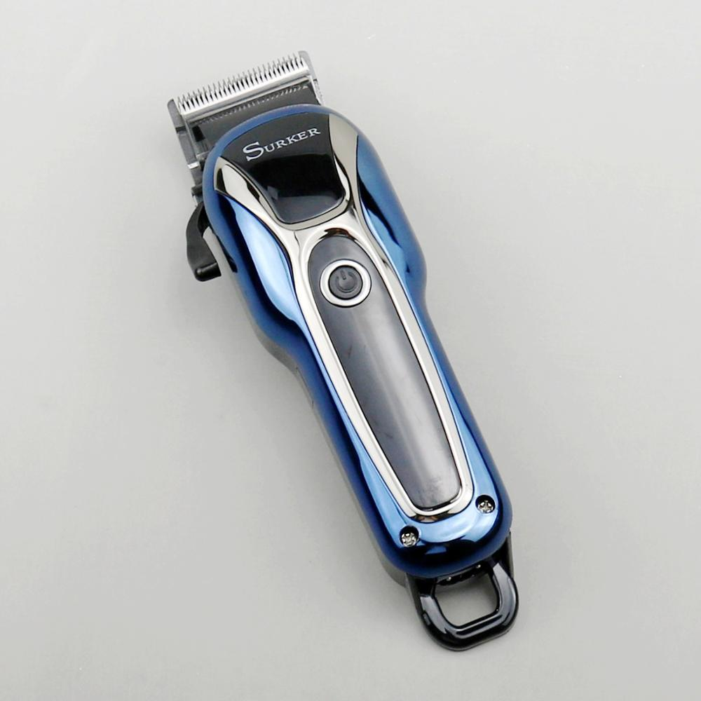 Image 2 - barber cordless hair clipper professional trimmer men child hair cutter electric hair cutting machine haircut adjustable salon-in Hair Trimmers from Home Appliances