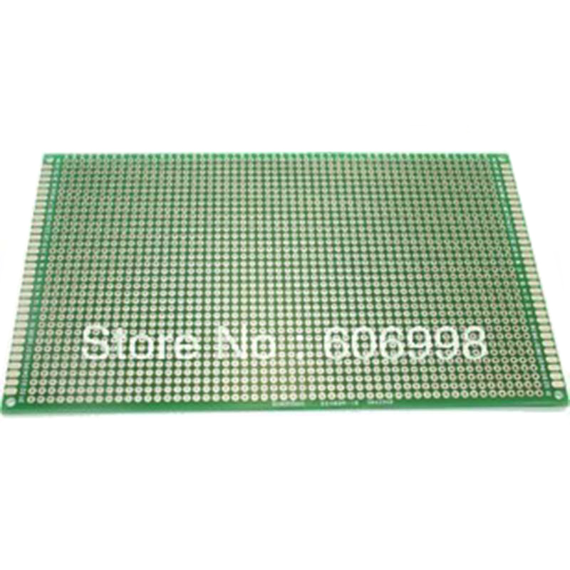 9*15cm Double Side Copper Prototype PCB Diy Universal Printed Circuit Board Protoboard For Arduino Experimental Plate