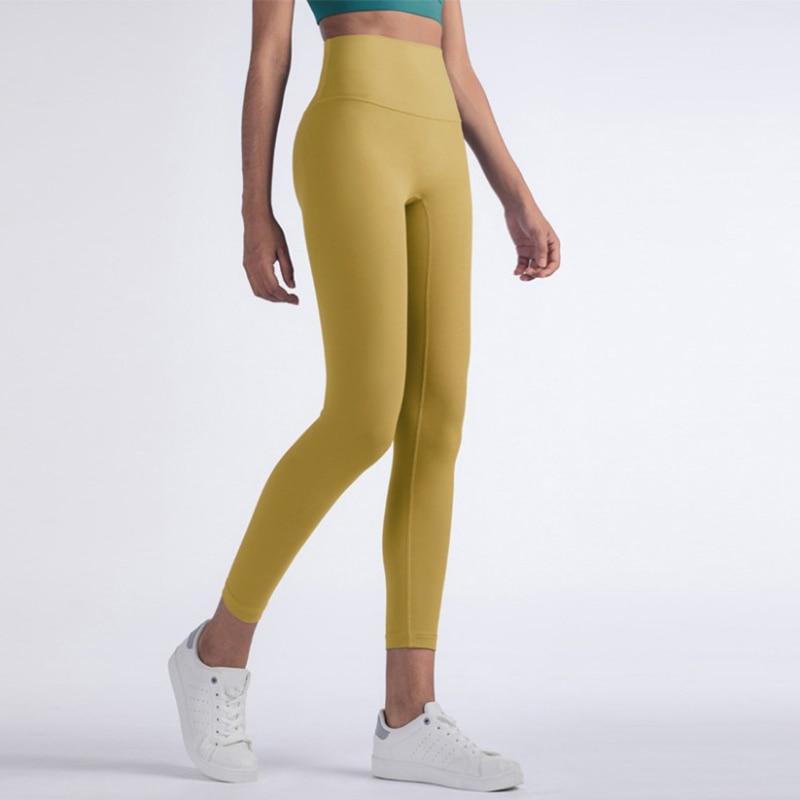 Vnazvnasi 2020 Hot Sale Fitness Female Full Length Leggings 8 Colors Running Pants Comfortable And Formfitting