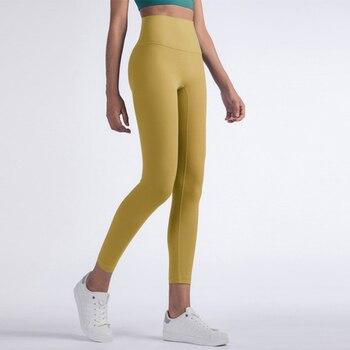 Vnazvnasi 2020 Hot Sale Fitness Female Full Length Leggings 8 Colors Running Pants Comfortable And