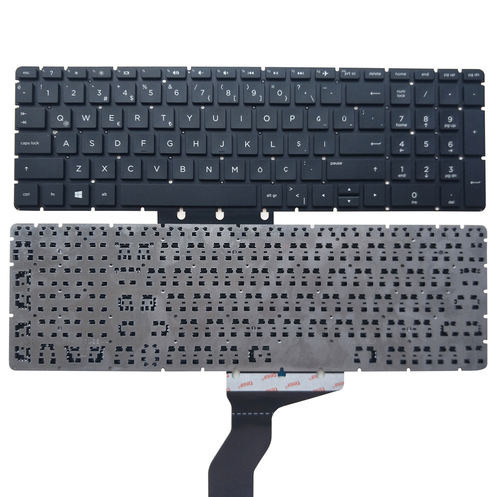 Good Turkish TR laptop <font><b>keyboard</b></font> for <font><b>HP</b></font> for ENVY X360 15M 15-BP015 15-BS 15-BW <font><b>250</b></font> <font><b>G6</b></font> 15-CC 15-BC 17-AE 15-CK p/n:921267-141 image
