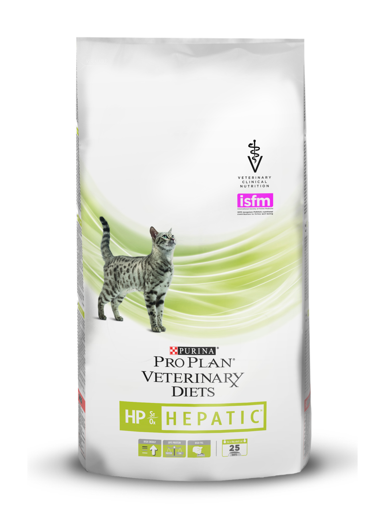 Pro Plan Veterinary Diets HP Hepatic food for cats disease, liver, 1,5 kg image
