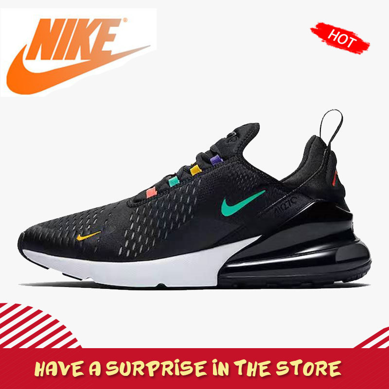 Original Authentic Nike Air Max 270 Men's Shoes Running Outdoor Sneakers Breathable Athletic Designer New Arrival AH8050-023