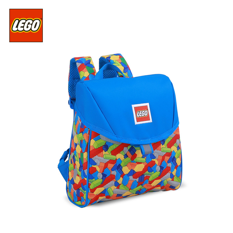 Lego LEGO New Style Children Casual Backpack 1-3 Years Old Boys And Girls School Bag Light Burden Relieving