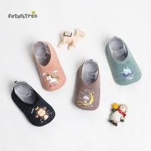 Весна Осень 2020 детские носки для пола детская обувь с единорогом