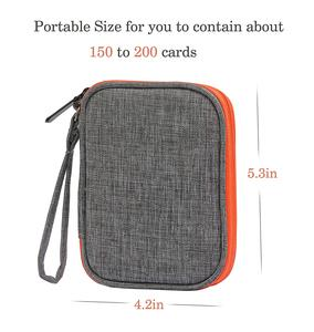 Image 5 - For Travel Carrying UNO Case Compatible Card Game Card package key case digital product,headphone wire storage bag (No card)