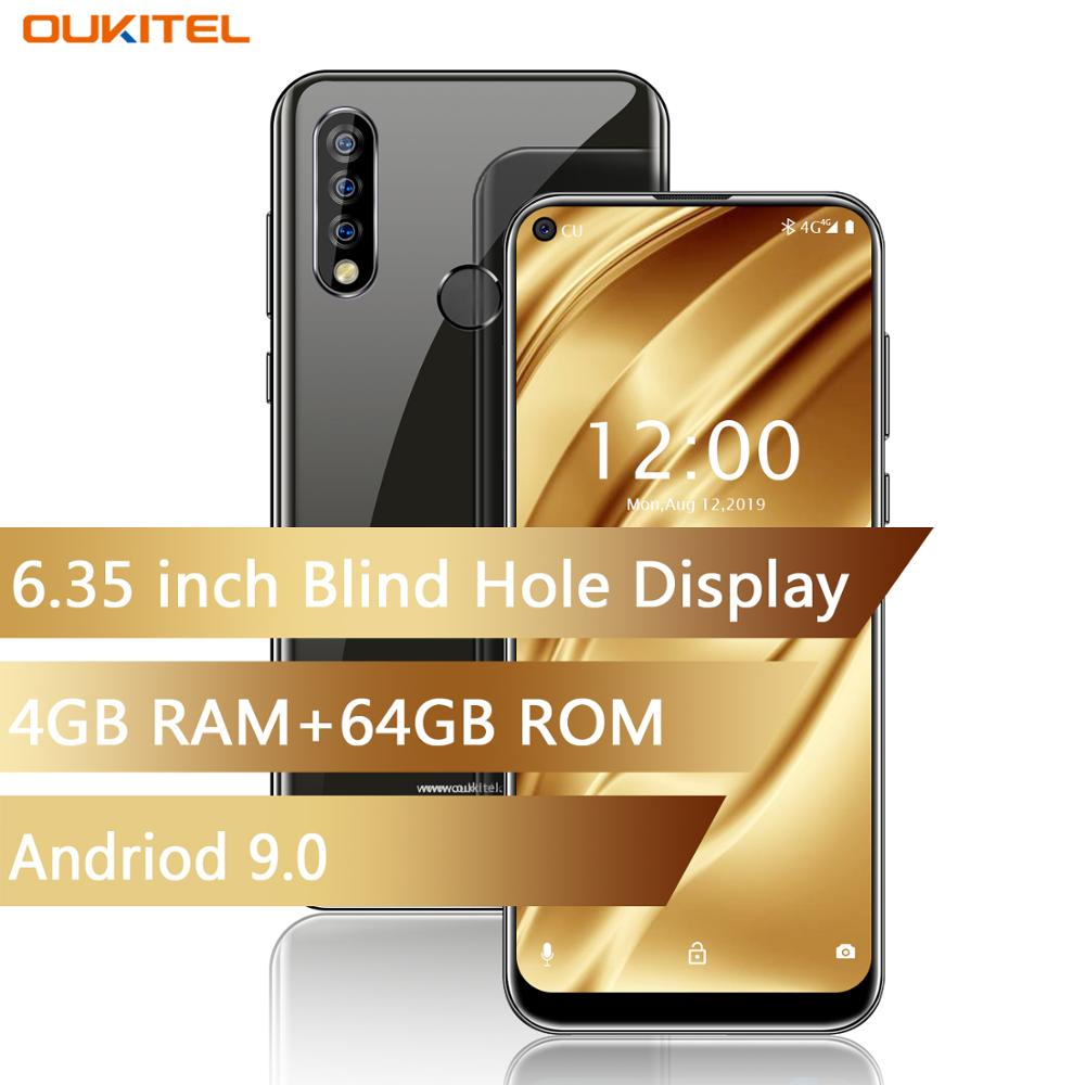 OUKITEL C17 Pro  2.4G/5G WiFi 4G LTE Smartphone Android 9.0 MT6763 Fingerprint Face ID 6.35