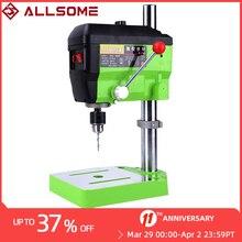ALLSOME BG-5168E 680W Drill Press Mini Electric Drill Machine