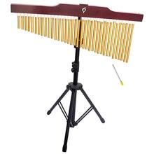 36-тон бар Ловец снов однорядной ветряной колокольчик с украшением в форме музыкальный ударный инструмент с штатив-Трипод стойка нападающий