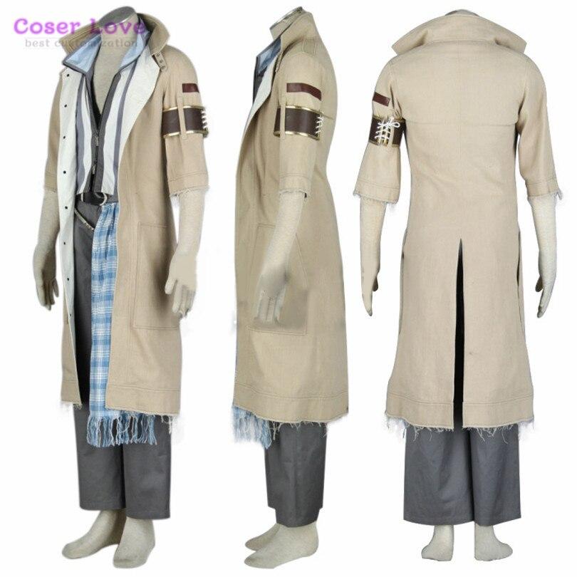 Final Fantasy 13 neige Villiers jeu costume ornements costume ensemble entier Cosplay Costume Carnaval Halloween costume fête de noël - 4