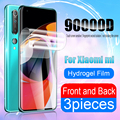 Screen Protector Für Xiaomi Poco M3 X3 NFC F1 F2 Pro Für Mi Hinweis 10 Pro A3 A2 A1 8 9 9T 10T Lite Mix 3 Hydrogel Front Zurück Film
